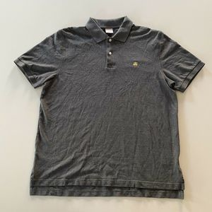 Brooks Brothers Original Fit Polo Shirt Gray